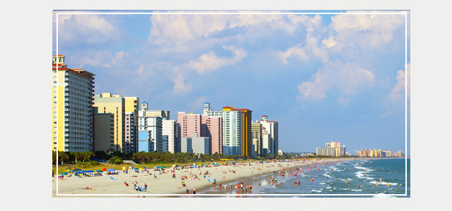 SAVE UP TO 25% OFF MYRTLE BEACH RESORTS