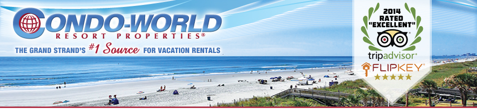 Myrtle Beach Condo Rentals from Condo-World