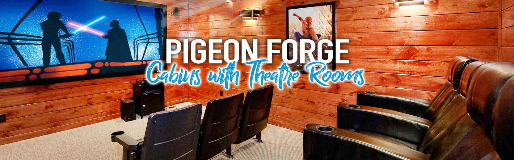 Pigeon Forge Cabins With Theater Rooms