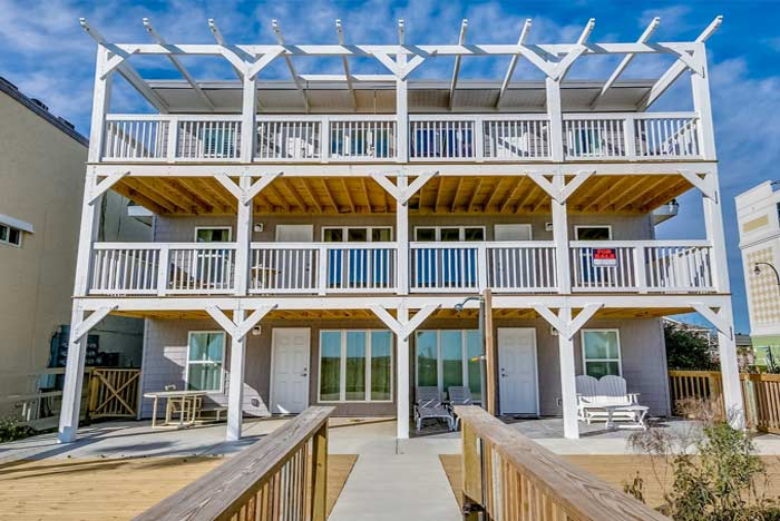 Stupendous Cherry Grove Beach Rentals Vacation Rentals Oceanfront Home Interior And Landscaping Oversignezvosmurscom